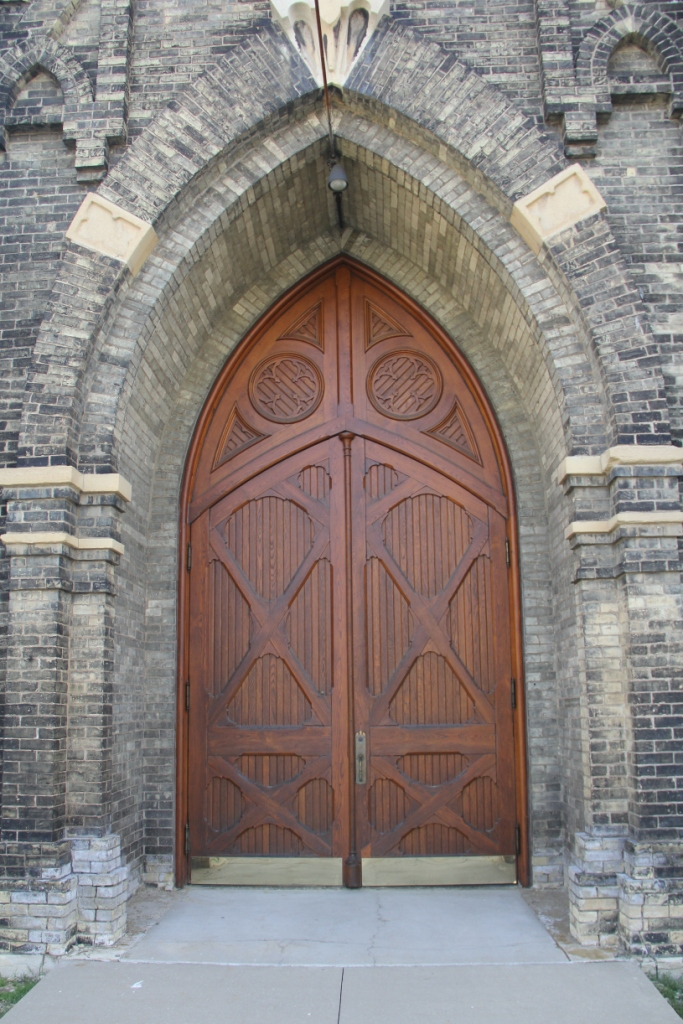 Trinity Lutheran Milwaukee Door